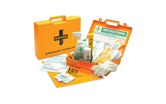 Response® Body Fluid and Sharps Disposal Kit Response® Body Fluid and Sharps Disposal Kit
