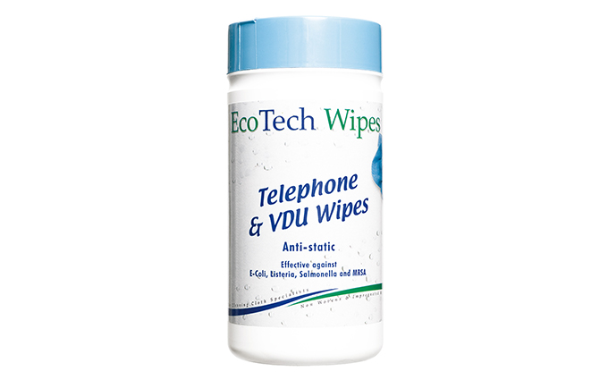Tub of 100 VDU/Telephone Wipes  Tub of 100 VDU/Telephone Wipes