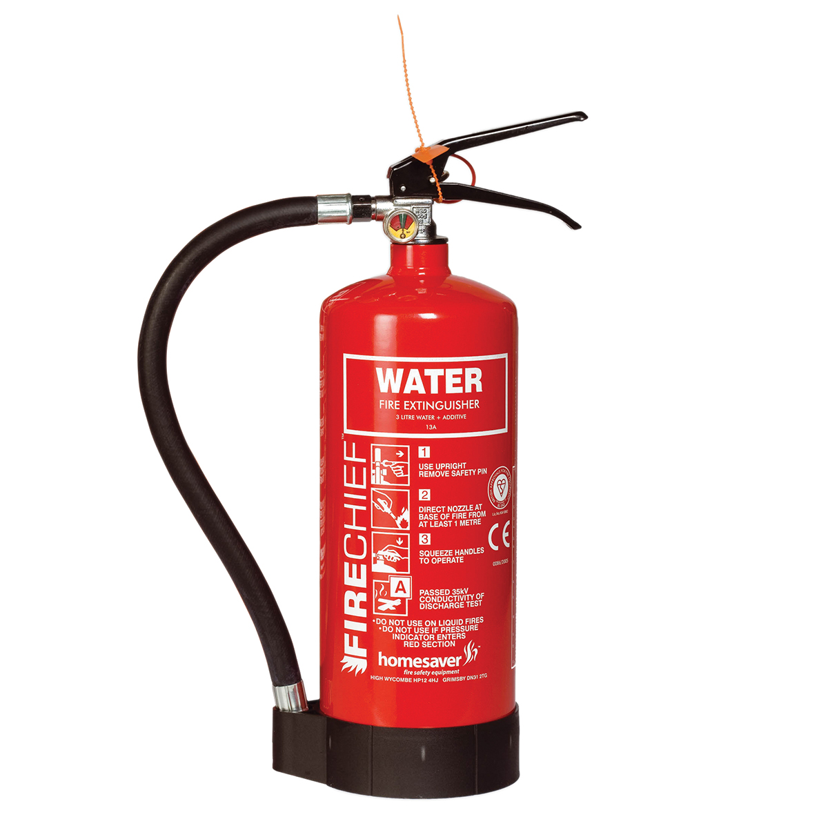 Water and Additive Fire Extinguisher