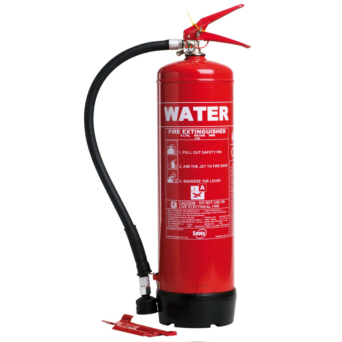 6 litres Water Fire Extinguisher