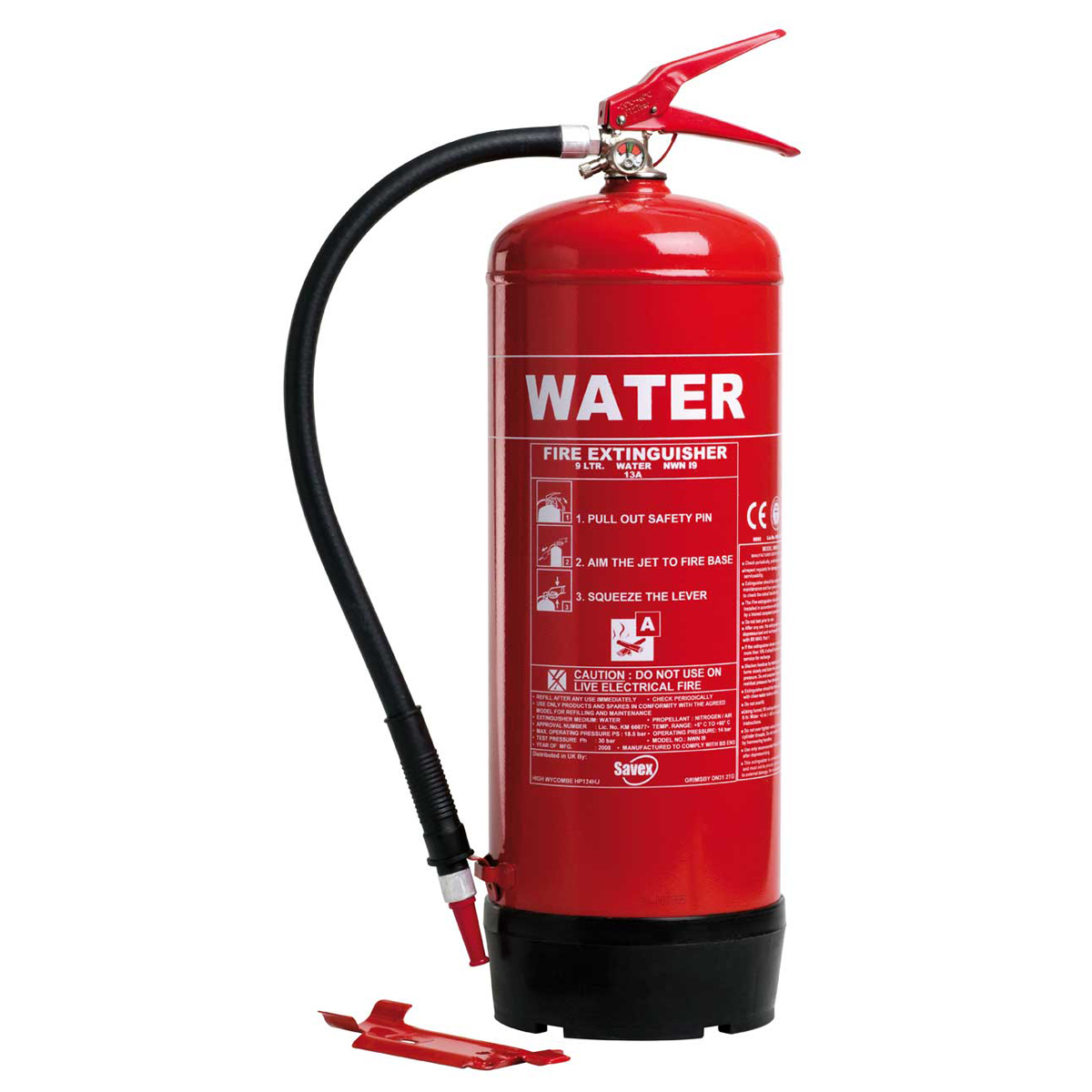 9 litres Water Fire Extinguisher