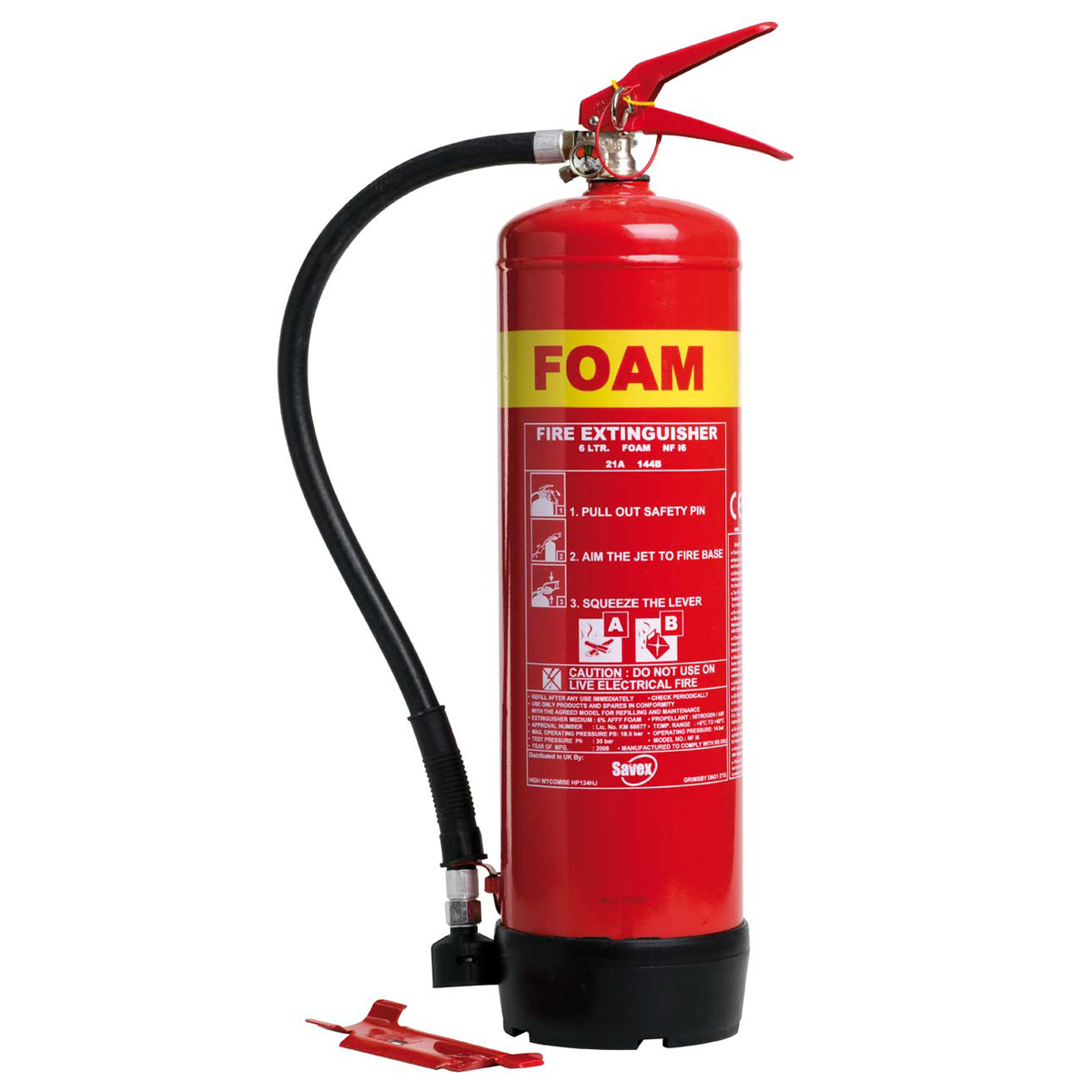 6 litres Foam Fire Extinguisher