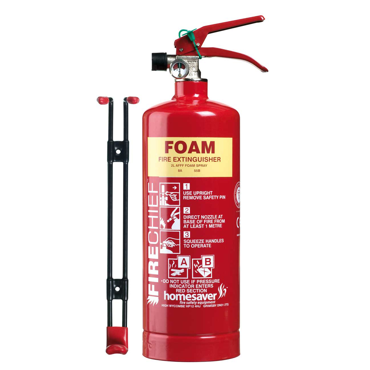 2 litres Foam Fire Extinguisher