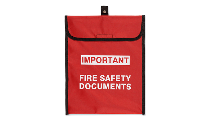 Fire Safety Document Holder Fire Safety Document Holder