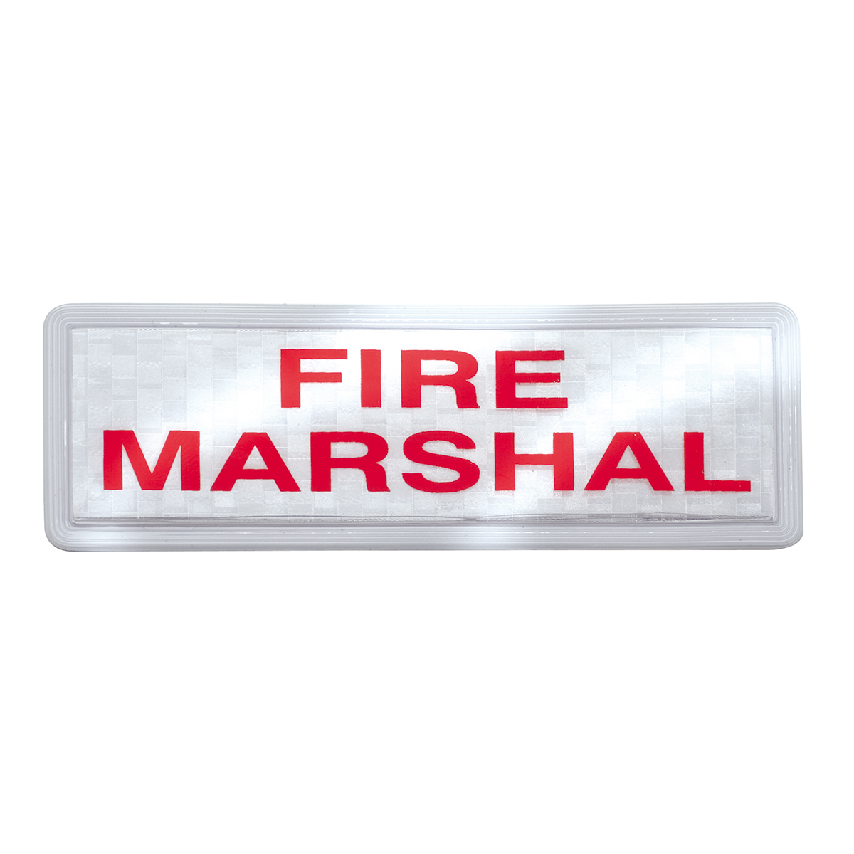 Fire Marshall Badge Set