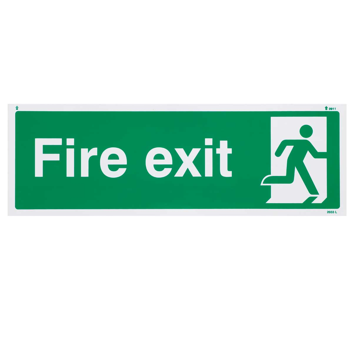 Final Exit Fire Sign