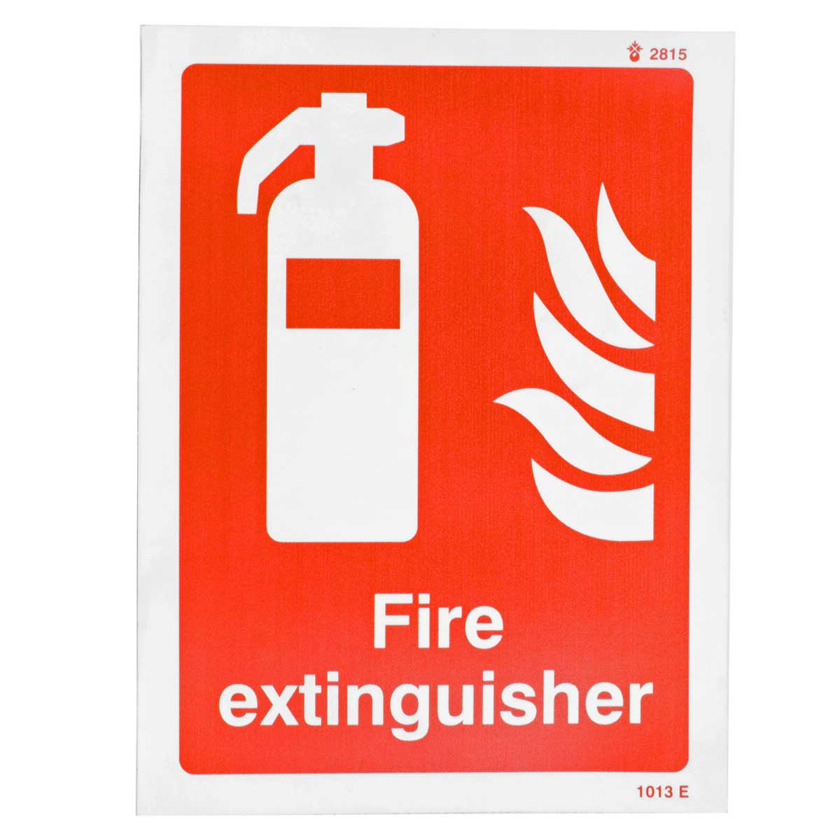 Fire Extinguisher Photo-Luminescent Sign