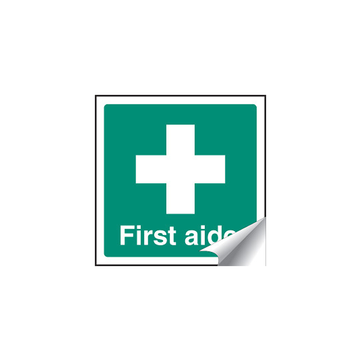 First Aider Label