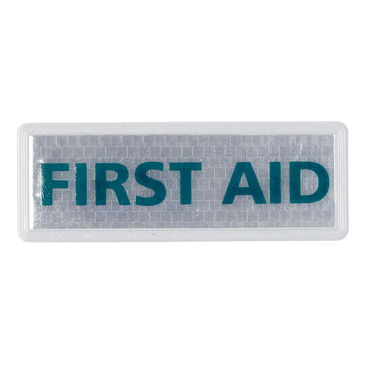 Small First Aid Reflective Badge