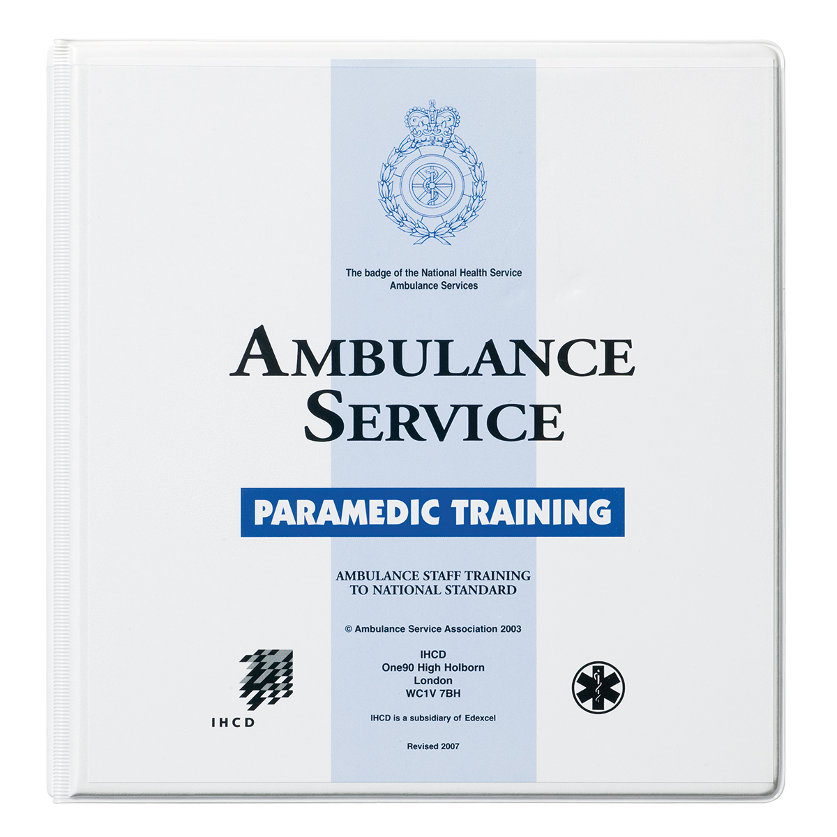IHCD Paramedic Training Manual