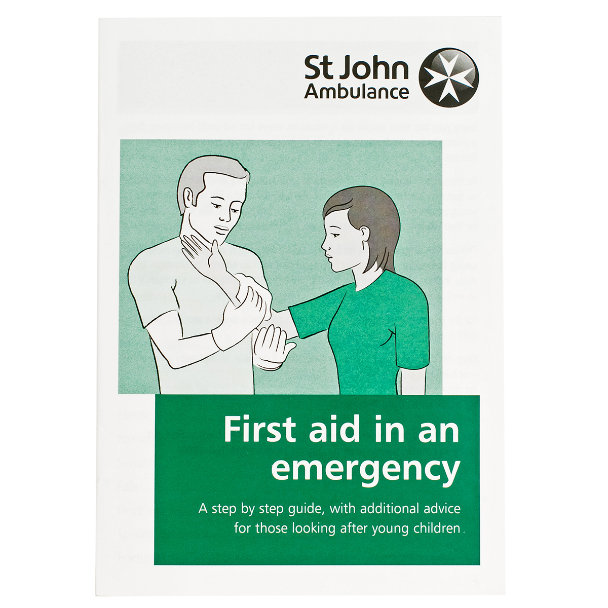 First Aid in an Emergency Booklet