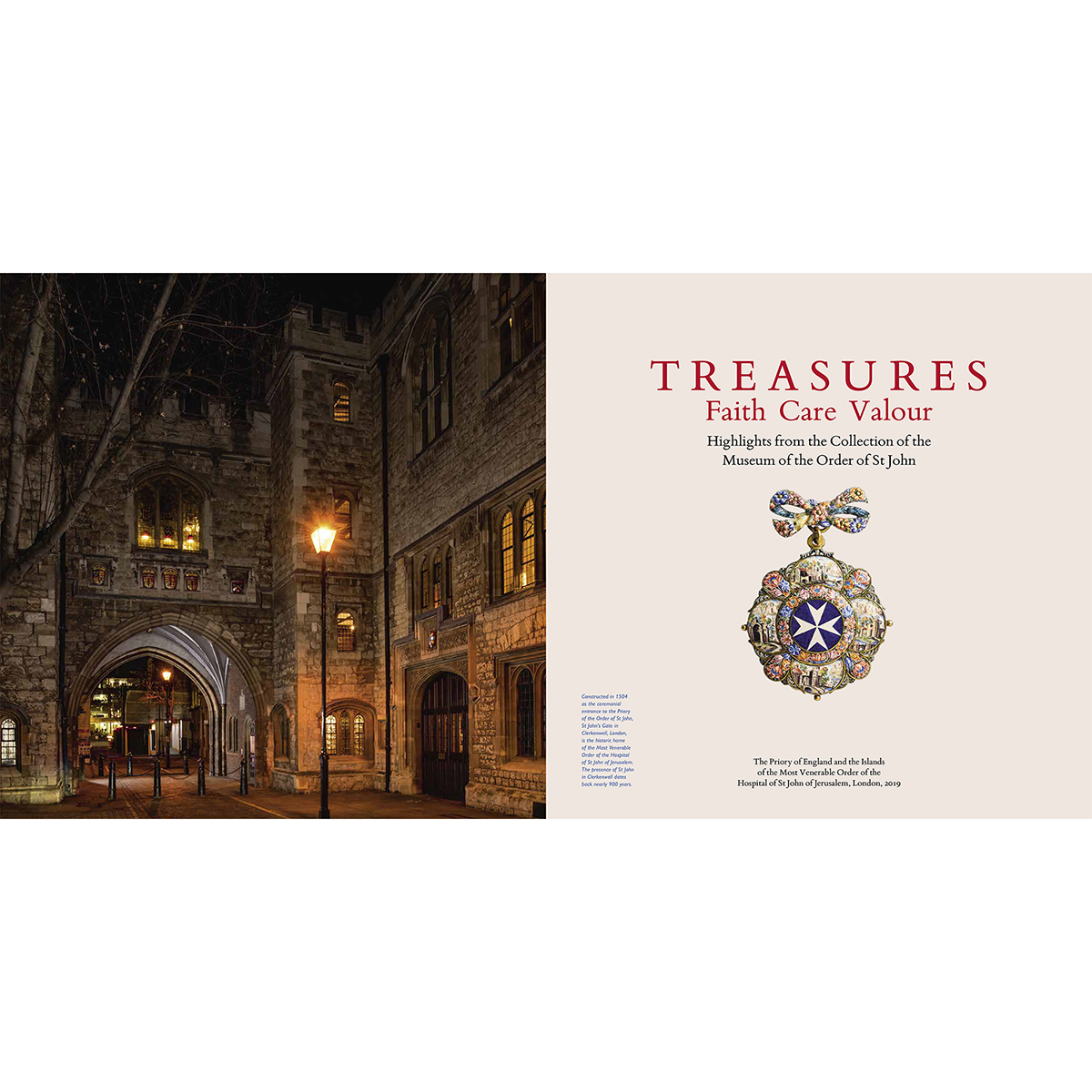 TREASURES - Highlights from the Collection of the Museum of the Order of St John