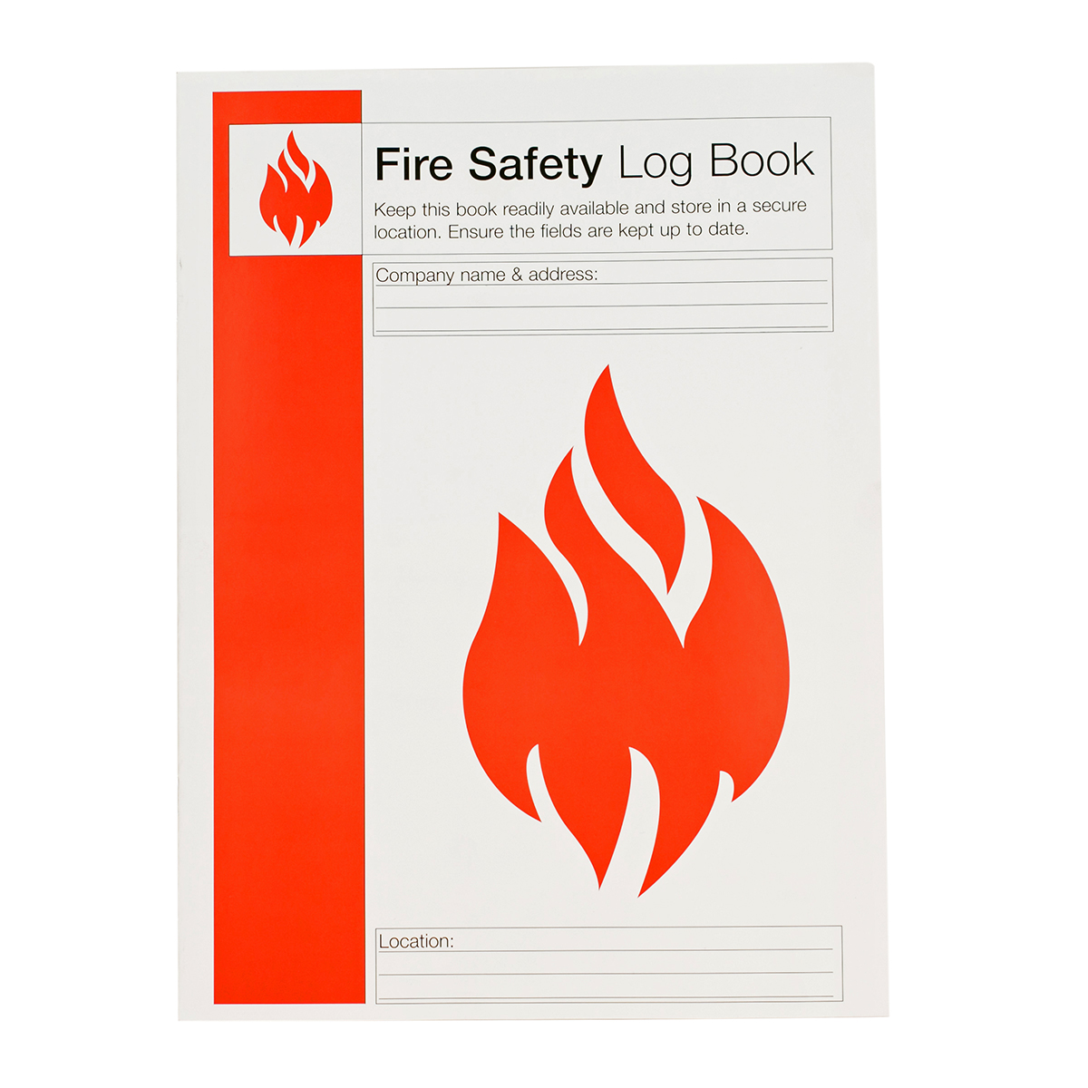 Fire Safety Log Book