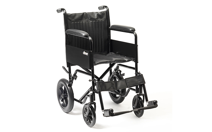 Half Folding Back S1 Self Propel Wheelchair