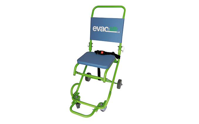 Evacusafe Mk11 Four Wheel Transit Chair