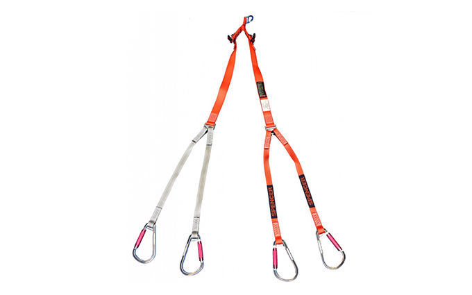 Adjustable Lifting Bridle for Basket Shell Stretcher
