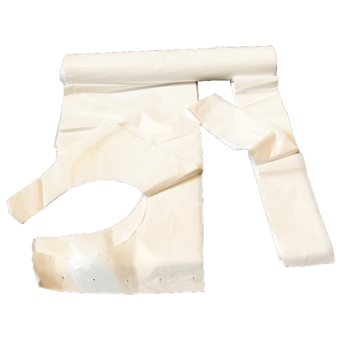 Roll of 100 Disposable Aprons