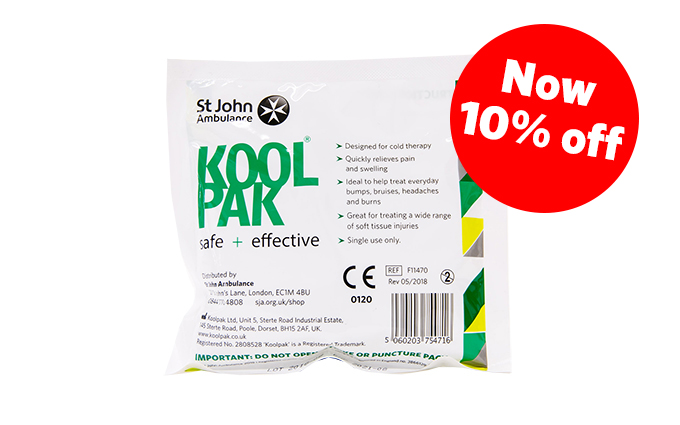 Koolpak® and St John Ambulance Mini Instant Ice Pack