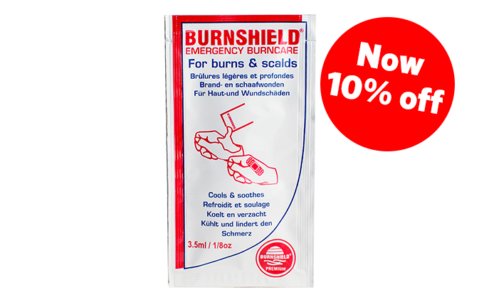 3.5ml Burnshield® Burn Blott Sachet