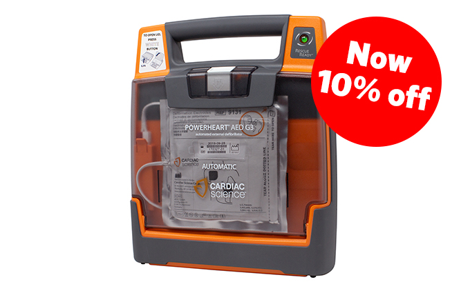 Powerheart G3 Elite Semi-Automatic Defibrillator