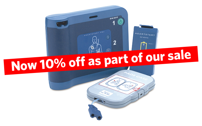 Philips HeartStart FRx Semi-Automatic Defibrillator with Carry Case