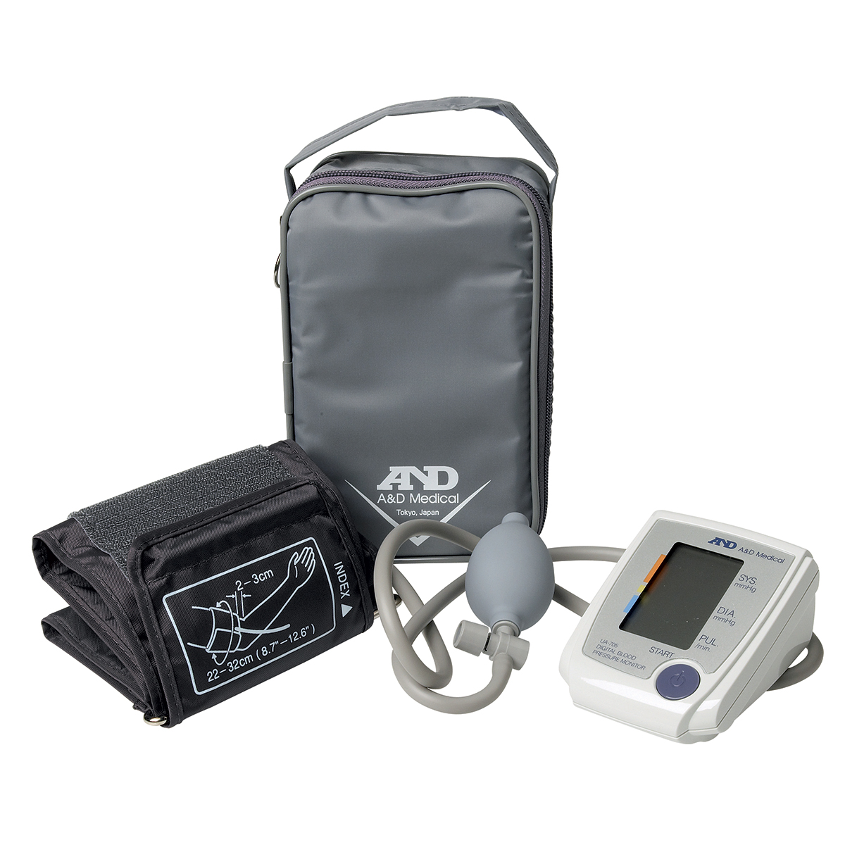 Semi-Automatic Digital Blood Pressure Monitor