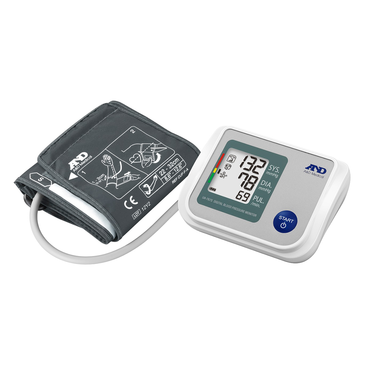 A&D UA-767S Automatic Blood Pressure Monitor