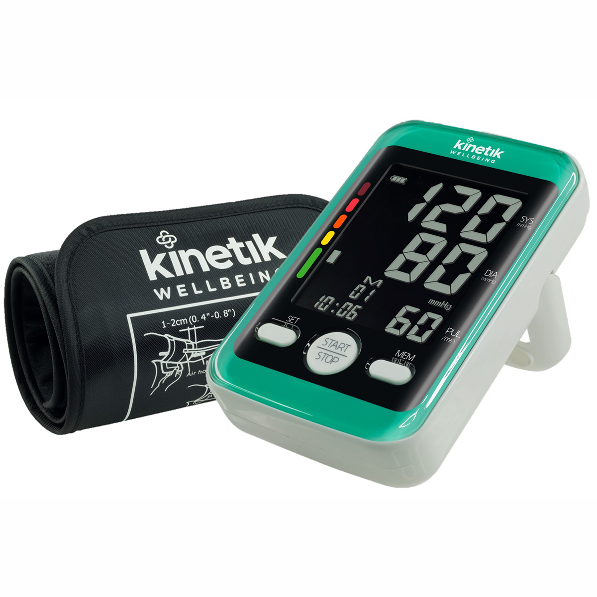 Kinetic Wellbeing Advanced Blood Pressure Monitor X2 Comfort