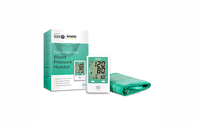 Kinetic Wellbeing Fully Automatic Blood Pressure Monitor