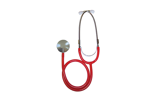 Red Timesco™ Dual Head Stethoscope