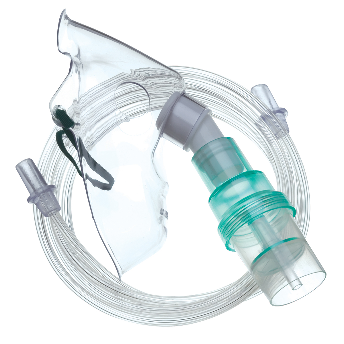 Adult Nebulising Mask with 1.8m Tubing