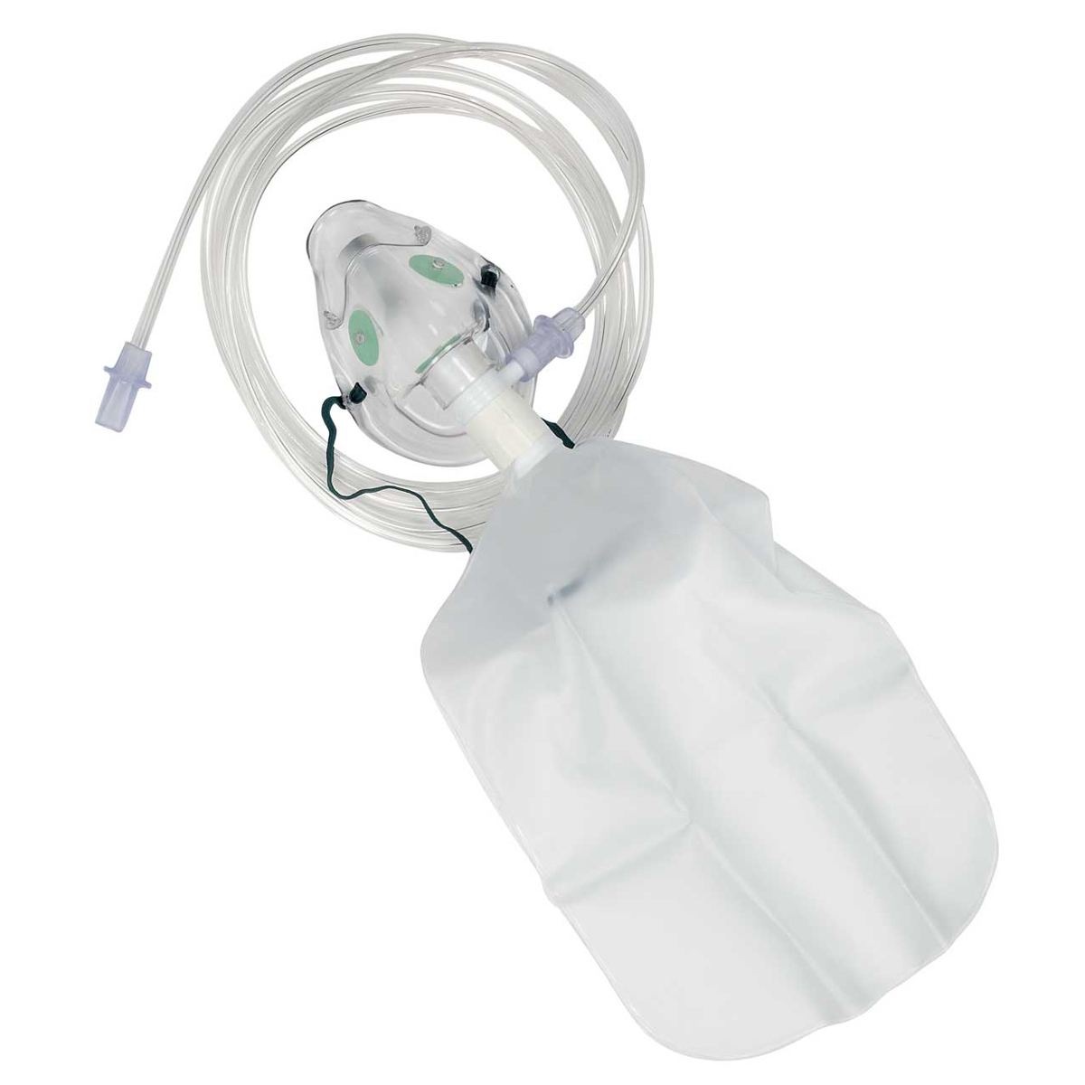 Paediatric High Concentration Non-Rebreathing Oxygen Mask and Tubing