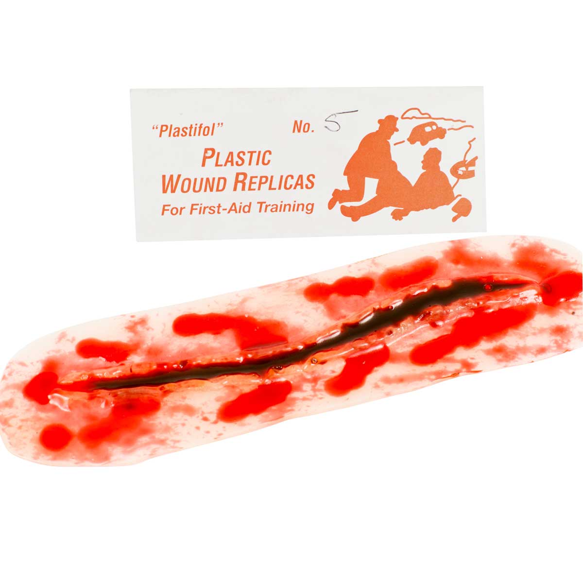 12.7cm Lacerated Replica Wound