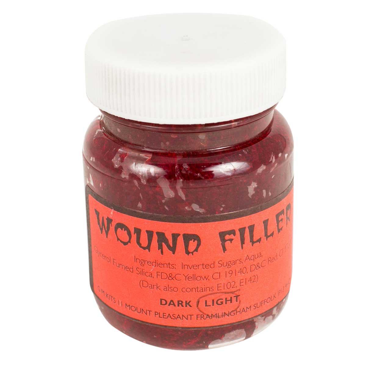 Light Red Wound Filler