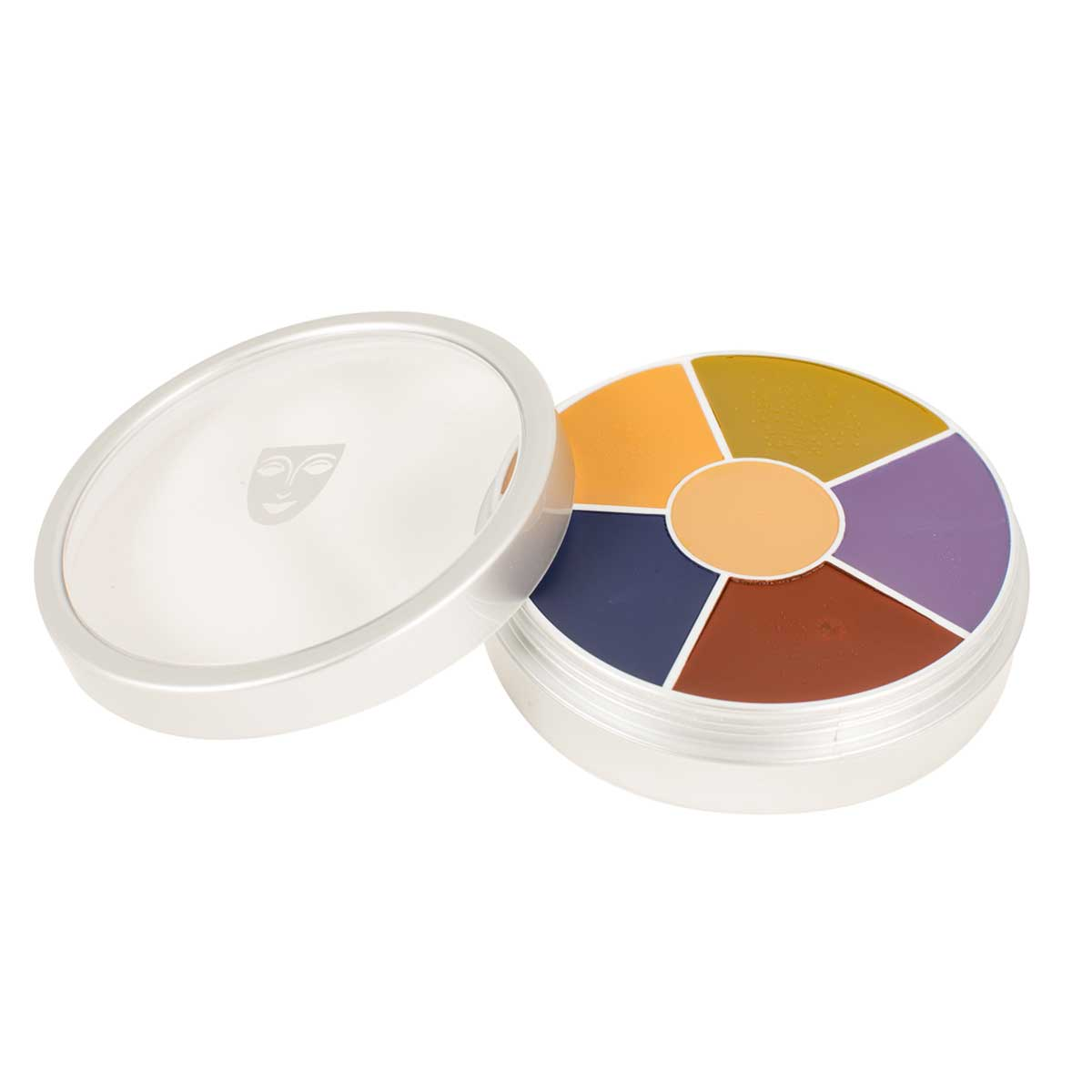 6 Colours Casualty Simulation Makeup Wheel
