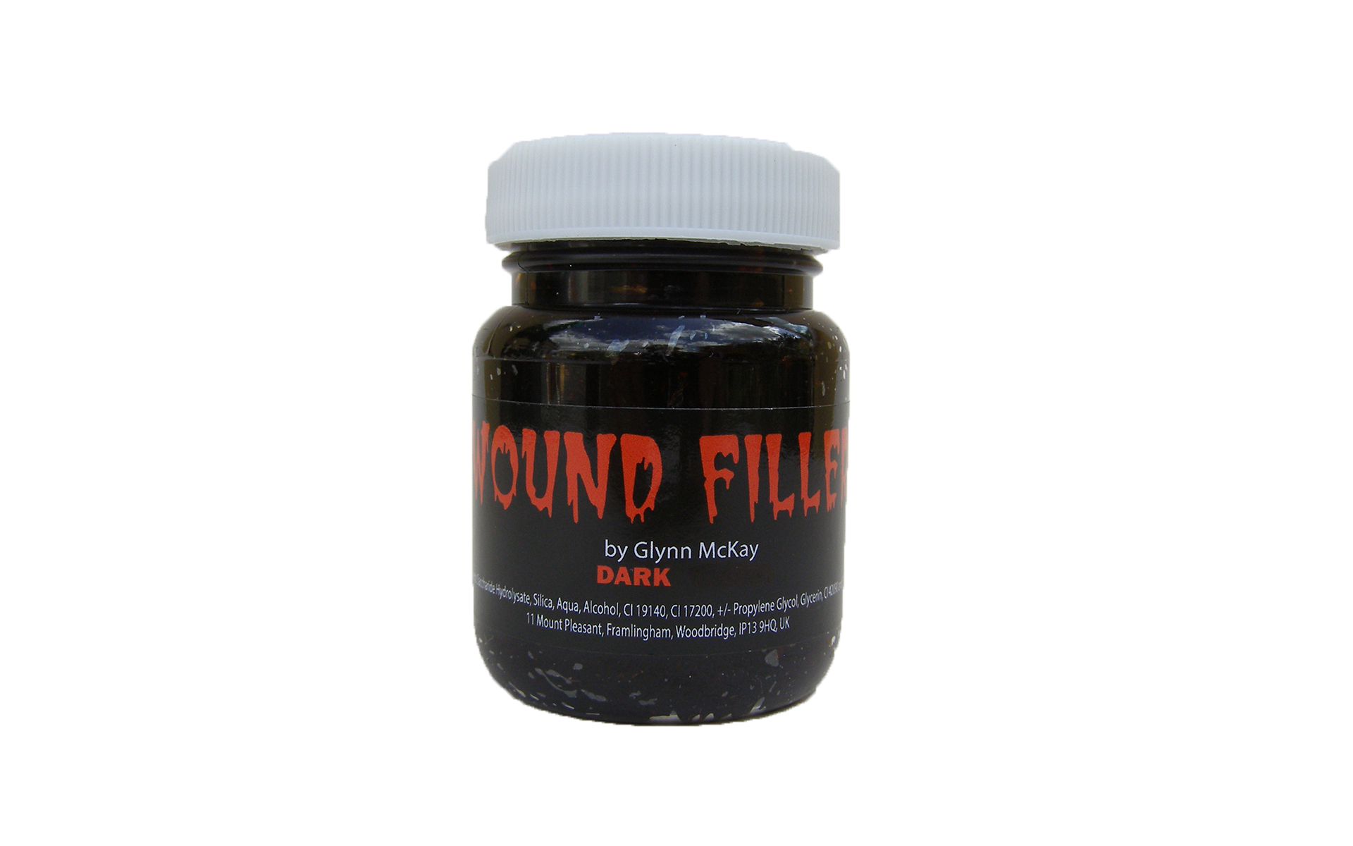 Dark Red Wound Filler