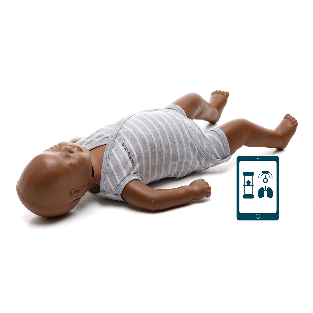 Laerdal Little Baby QCPR Dark Skin Training Manikin