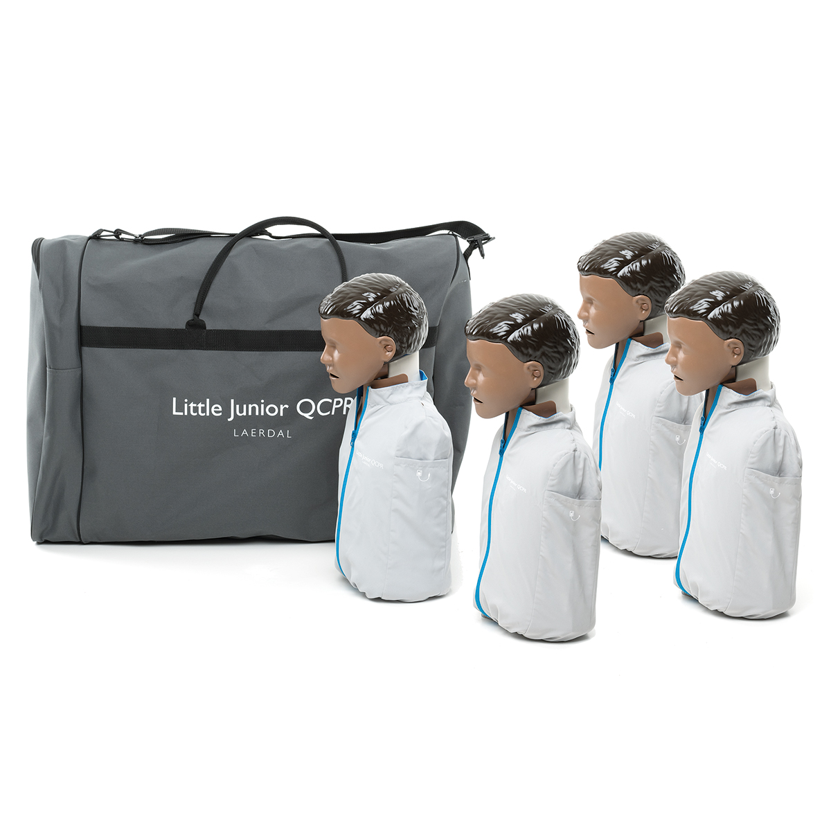 Pack of 4 Laerdal Little Junior™ Dark Skin QCPR Training Manikins