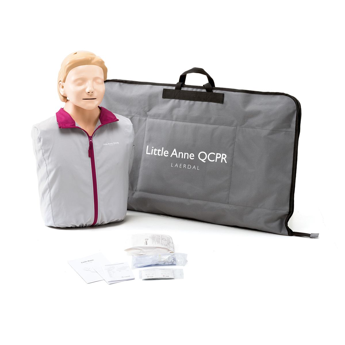 Single Light Skin Laerdal Little Anne™ QCPR Training Manikin