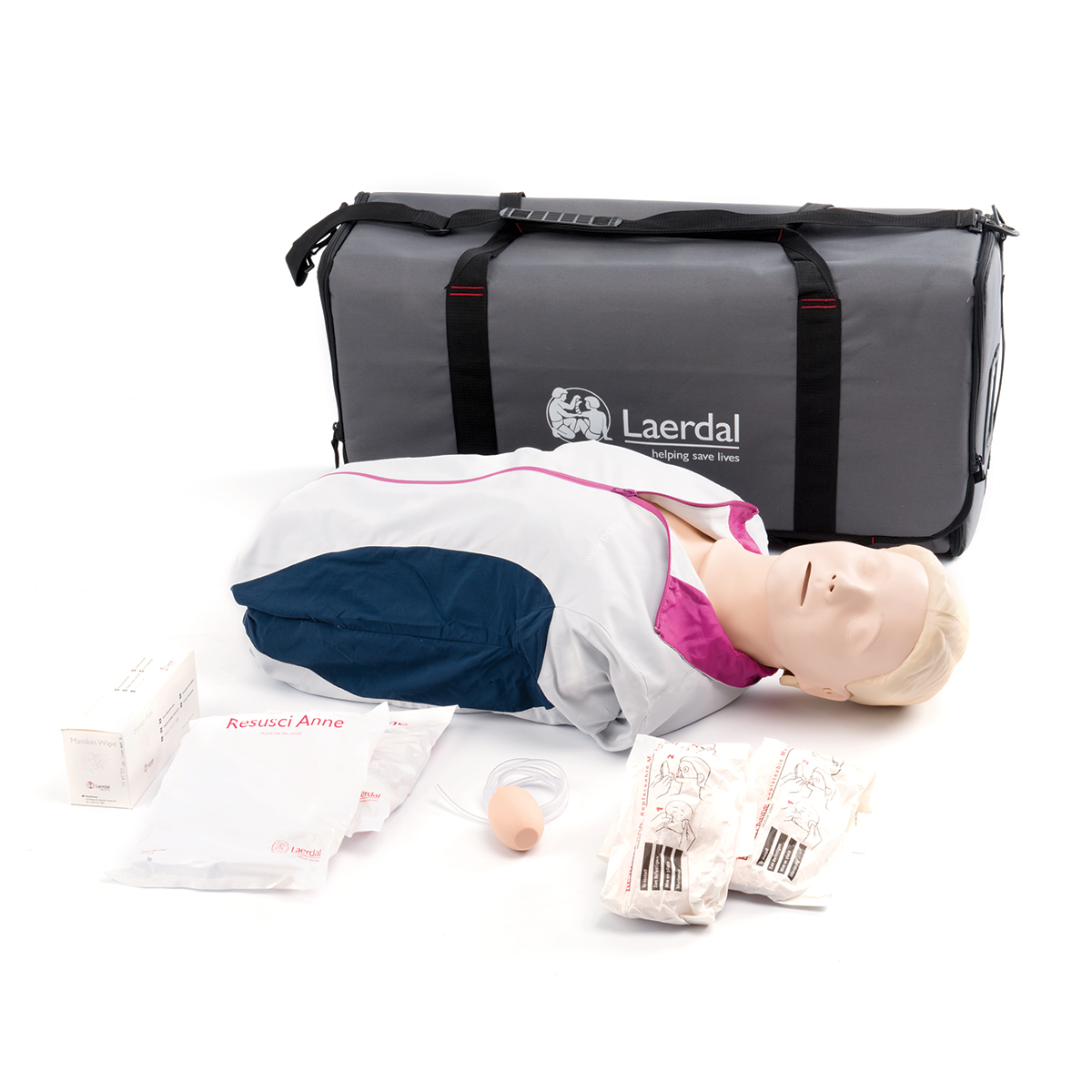 Laerdal Resusci® Anne First Aid Torso with Carry Bag