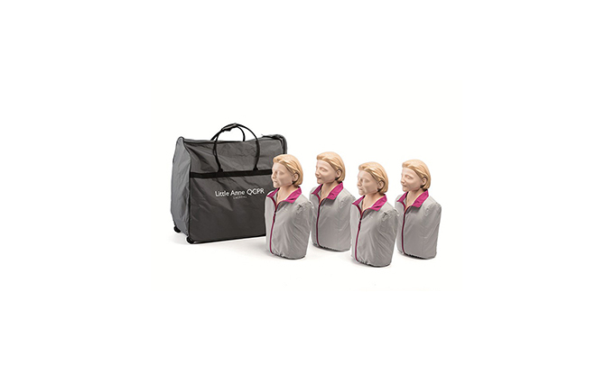 Pack of 4 Laerdal Little Anne™ QCPR Light Skin Training Manikins