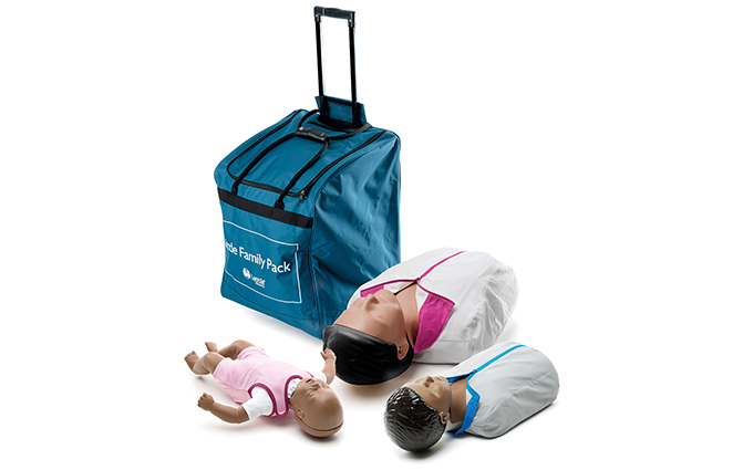 Laerdal Little Family QCPR Dark Skin Pack