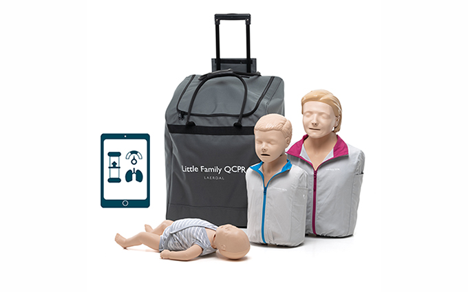 Laerdal Little Family QCPR Light Skin Training Manikin Pack
