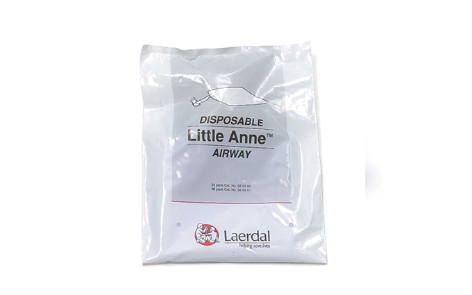 Pack of 96 Laerdal Little Anne™ Disposable Complete Airways